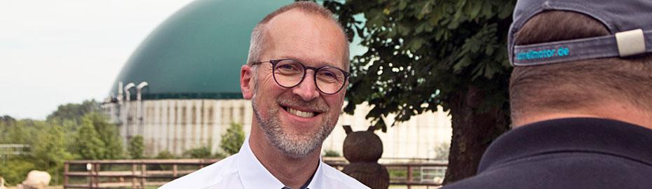 Sönke Ritterhoff, Firmenkundenberater Agrar